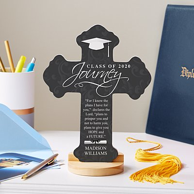 Graduation Journey Prayer Cross