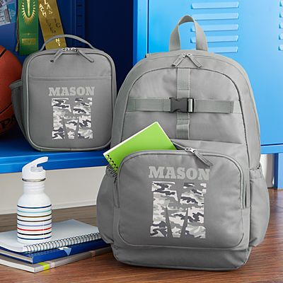 Their Own Name Charcoal Backpack Collection