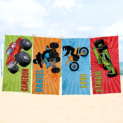 Extreme Sports Beach Towel