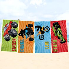 Extreme Sports Beach Towel