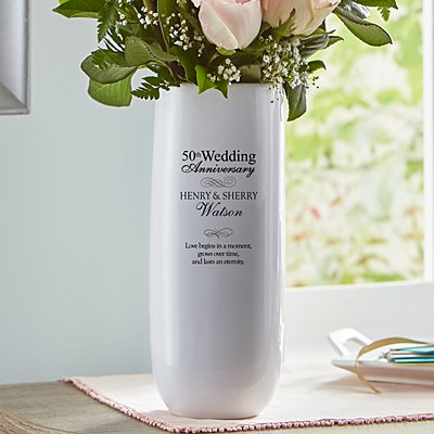 Anniversary Celebration Vase