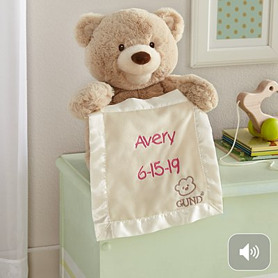 GUND® Animated Peek-A-Boo Bear