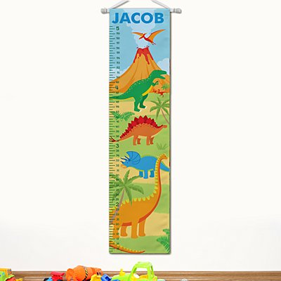 Dinosaur Taller & Taller Growth Chart
