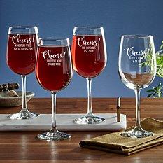 Cheers! Stemware Wine Glass