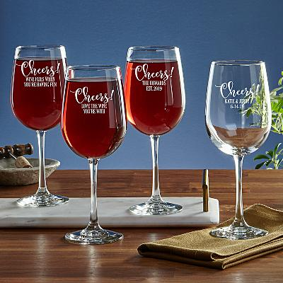 Cheers! Stemware Wine Glass
