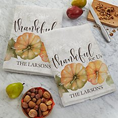 Thankful For Us Kitchen Towel