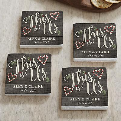 This is Us Christmas Coasters
