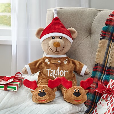Cuddle Time Christmas Teddy Bear