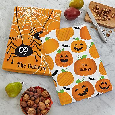 Cute & Spooky Tea Towel Set