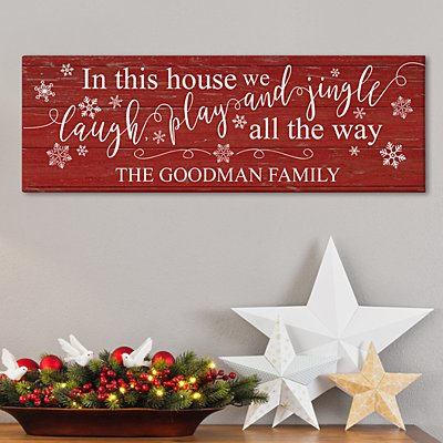 Jingle All the Way Canvas