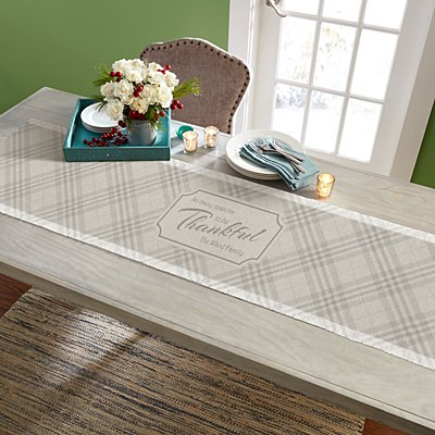 Reasons To Be Thankful Table Runner