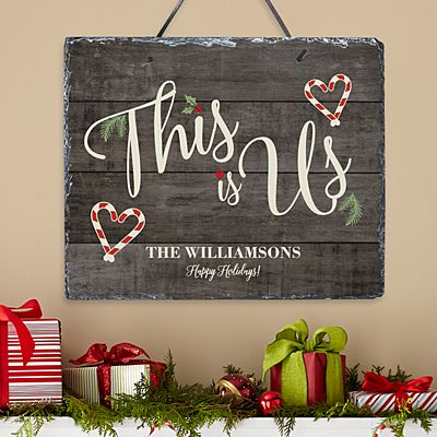This is Us Holiday Slate