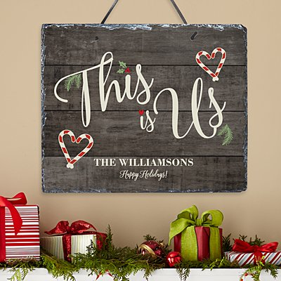 This is Us Christmas Slate