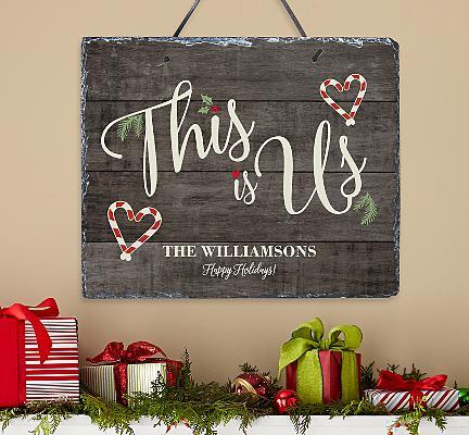 This is Us Christmas Slate