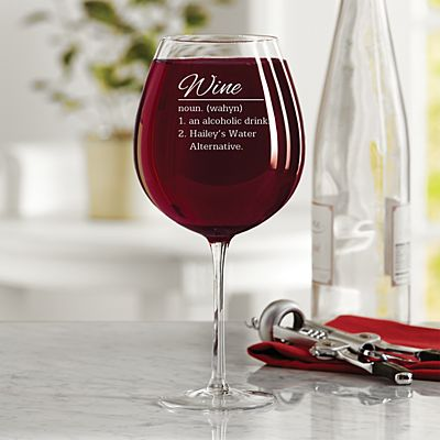 Wine Defined Colossal Wine Glass