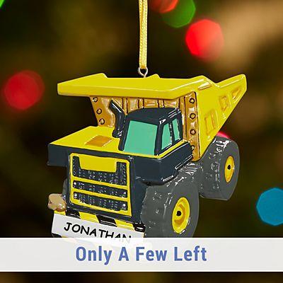 Tonka Dump Truck Ornament