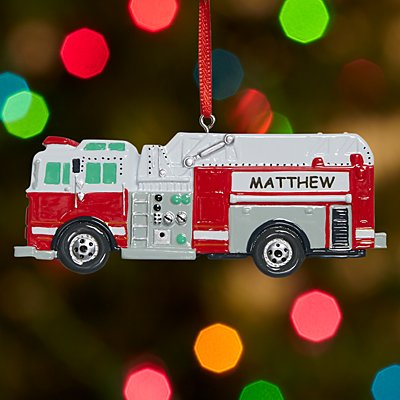 Tonka Fire Engine Ornament