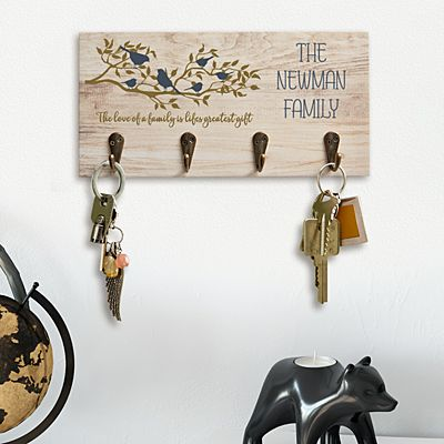 Birds On A Branch Keyhook