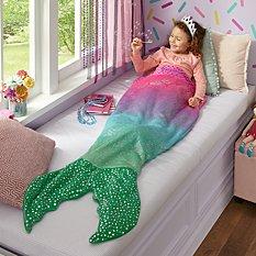 Blankie Tails® Glitter Mermaid Blanket