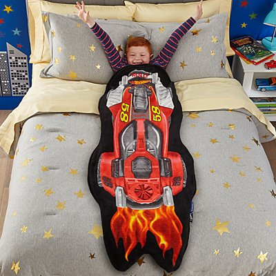 Blankie Tails® Hot Wheels Blanket