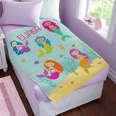 Girls' Sleepy-Time Plush Blanket