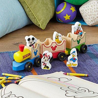 Melissa & Doug® Mickey Mouse & Friends Wooden Train