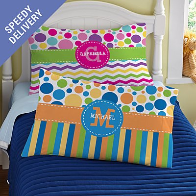 Pattern Party Pillowcase