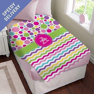 Pattern Party Plush Blanket