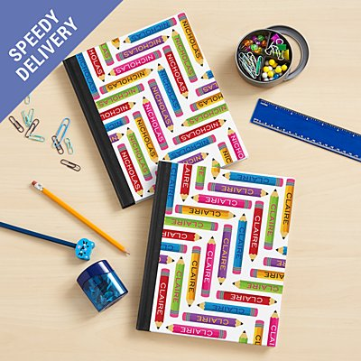 Pencil Pattern Notebook