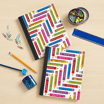 Pencil Pattern Notebook