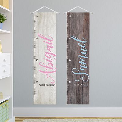 Rustic Kids Growth Chart