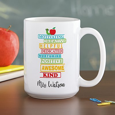 Teacher Traits Mug