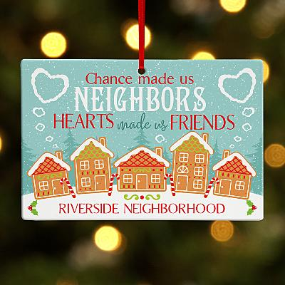 Neighbourhood Friends Rectangle Bauble