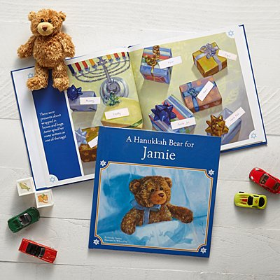 A Hanukkah Bear For Me Gift Set