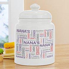 You Name It! Signature Cookie Jar
