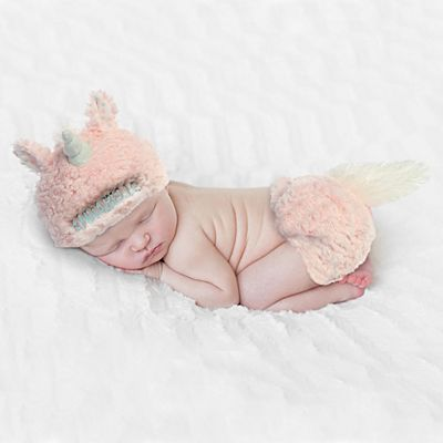Baby Unicorn Diaper Cover Set