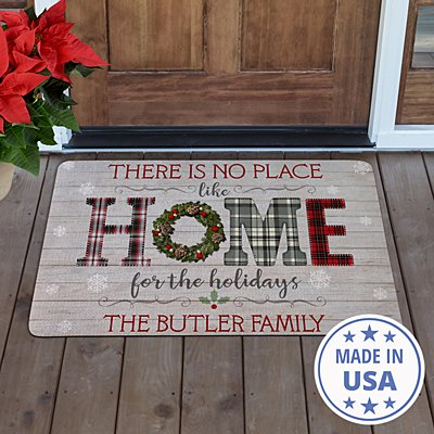 Home for the Holidays Doormat