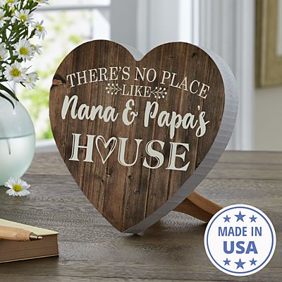 Our Favorite Place Mini Wood Heart