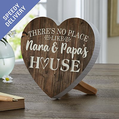 Our Favourite Place Mini Wooden Heart