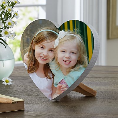 Picture Perfect Photo Mini Wooden Heart