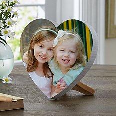 Picture Perfect Photo Mini Wood Heart