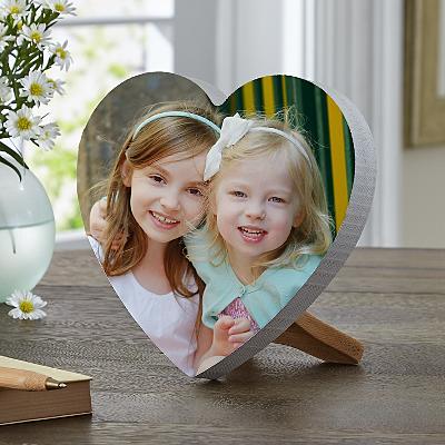 Picture Perfect Photo Mini Wooden Heart