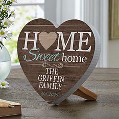 You Are Home Mini Wood Heart