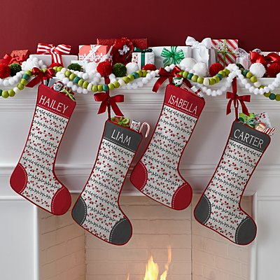 Berry Merry Stocking