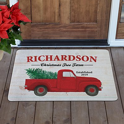 Christmas Tree Farm Doormat