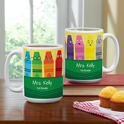 Colorful Crayons 15oz Mug