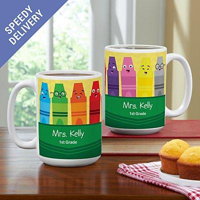 Colourful Crayons Mug