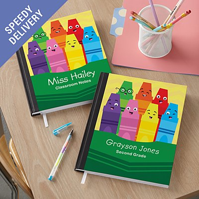Colourful Crayons Notebook