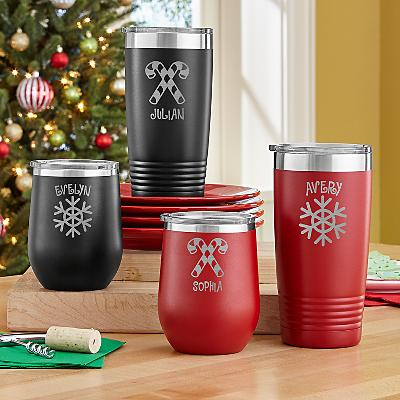 Cup of Cheer Christmas Insulated Tumblers