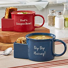 Dipping Time Soup Bowl